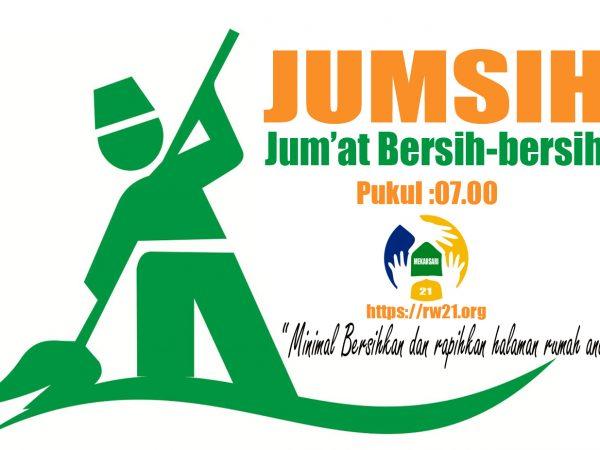 Himbauan kerja bakti JUMSIH (Jum'at Bersih)